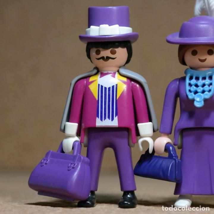 Playmobil: Playmobil Victoriano Sr y Sra FitzAlan Duo custom - Foto 2 - 161853314