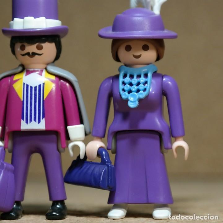 Playmobil: Playmobil Victoriano Sr y Sra FitzAlan Duo custom - Foto 3 - 161853314