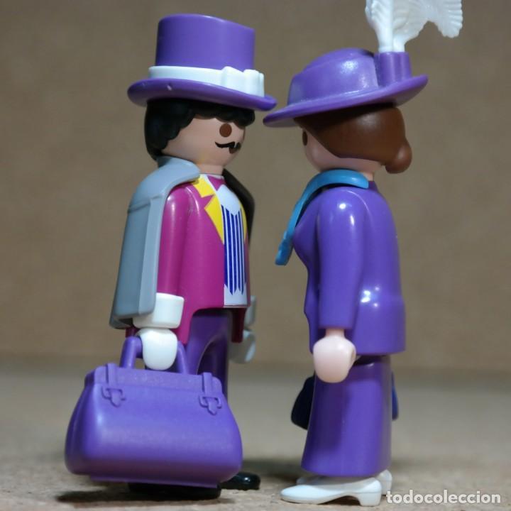 Playmobil: Playmobil Victoriano Sr y Sra FitzAlan Duo custom - Foto 4 - 161853314