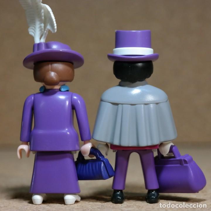Playmobil: Playmobil Victoriano Sr y Sra FitzAlan Duo custom - Foto 6 - 161853314