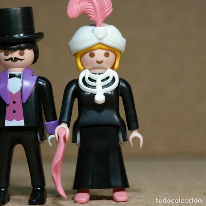 Playmobil: Playmobil Victoriano Sr y Sra Grenfell Duo Custom - Foto 3 - 161853434