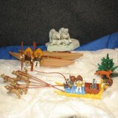 Playmobil: PLAYMOBIL PAIS DE LOS ESQUIMALES, CUSTOM. Lote 161855262