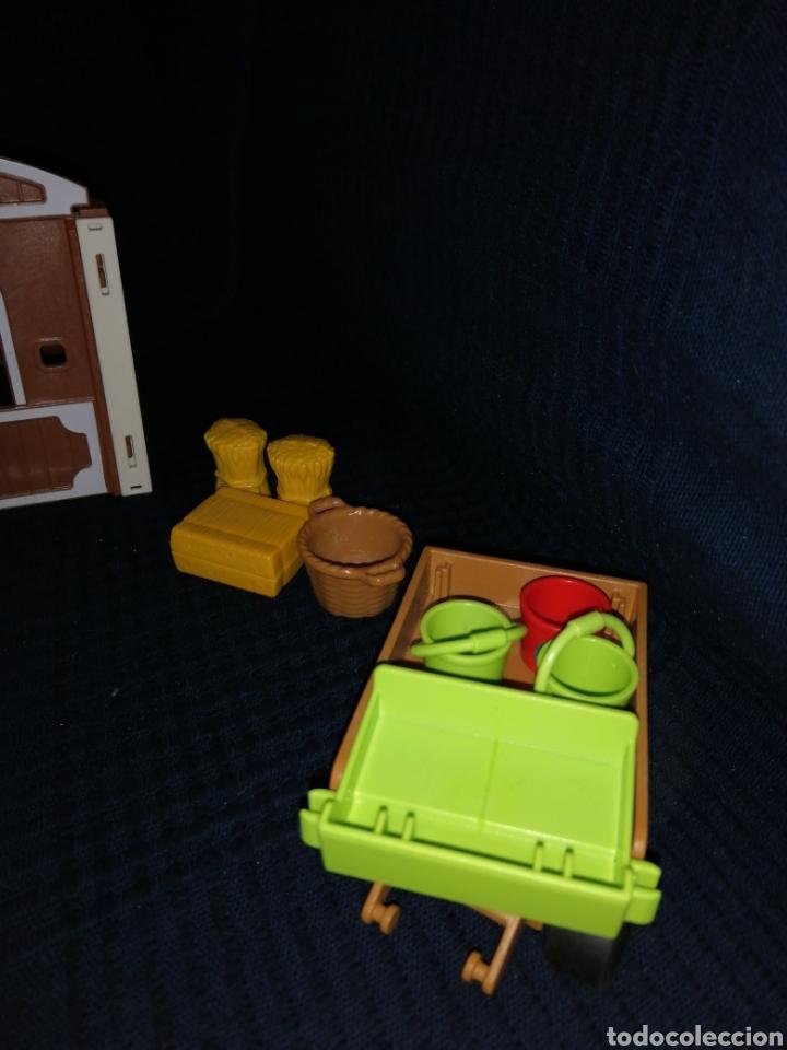 Playmobil: Lote Playmobil domadora cuadras caballos carroza y complementos - Foto 4 - 161877789