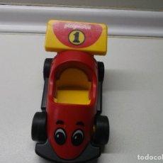 Playmobil: COCHE DE CARRERAS PLAYMOBIL AÑO 1993 GEOBRA ROJO CLICKS CLICK PLAY MOBIL. Lote 162108730