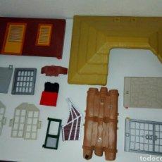 Playmobil: LOTE DESPIEZE TECHO PUERTAS REJAS PAREDES ECT PLAYMOBIL. Lote 162367245