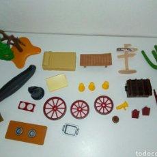 Playmobil: LOTE PIEZAS I DESPIEZE WESTERN PLAYMOBIL. Lote 162367385