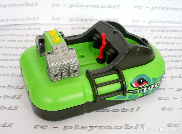 Playmobil: PLAYMOBIL 6512 Hovercraft Lancha neumática - Foto 2 - 162485334