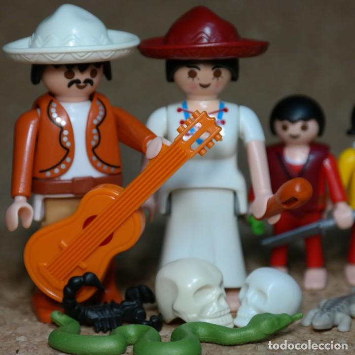 Playmobil: Playmobil Familia mexicana Sanches , western lejano oeste , mexicano , custom - Foto 2 - 162490894
