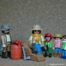 Playmobil: PLAYMOBIL FAMILIA FOLEY , LEJANO OESTE WESTERN , CUSTOM .. Lote 162492166