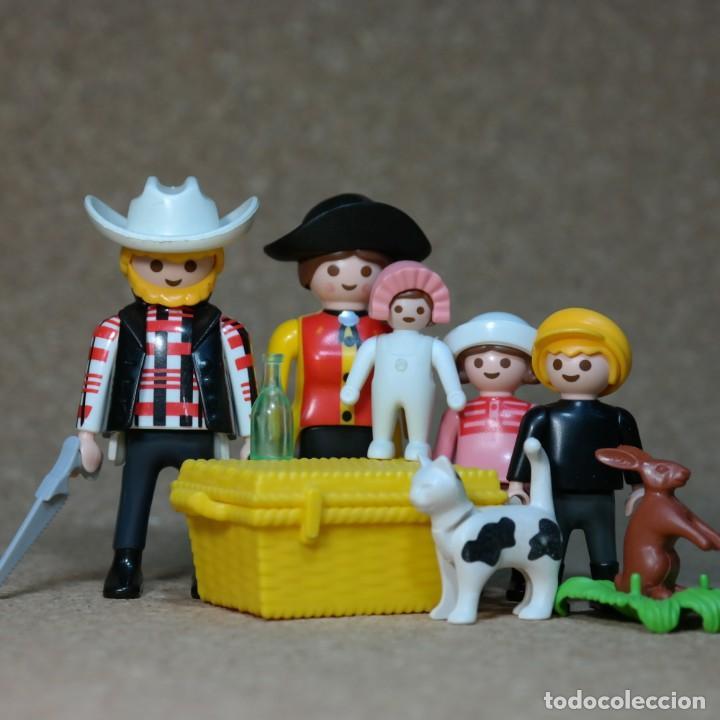 PLAYMOBIL FAMILIA MCLOUGHLIN , LEJANO OESTE WESTERN , CUSTOM . (Juguetes - Playmobil)