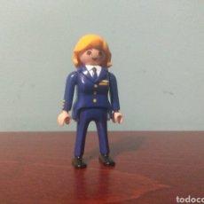 Playmobil: FIGURA PLAYMOBIL PILOTO DE AVIÓN. Lote 162525792