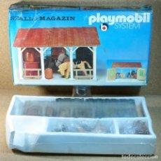 Playmobil: PLAYMOBIL REF. 3428 ESTABLO , CAJA CELLADA , ALEMANIA OCCIDENTAL.. Lote 162525874