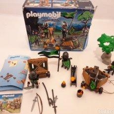 Playmobil: SOLDADOS LOBO KNIGHTS PLAYMOBIL 6041. Lote 163062308