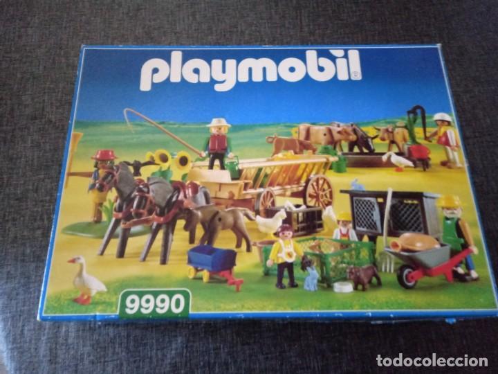 SET GRANJA PLAYMOBIL REFERENCIA 9990 AÑO 1999 (Juguetes - Playmobil)