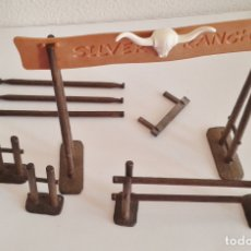 Playmobil: LOTE SILVER RANCH PRIMERA ÉPOCA PLAYMOBIL LETRERO VALLAS . Lote 164840434