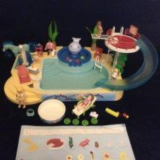 Playmobil: PLAYMOBIL,PISCINA SUMMER FUN CON FUENTE BALLENA.REF:5433. Lote 164855346