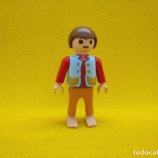 Playmobil: PLAYMOBIL NIÑO MEDIEVAL DESCALZO, PASTORCILLO. Lote 164865718