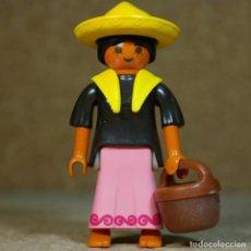 Playmobil: PLAYMOBIL MUJER MEXICANA LEJANO OESTE WESTERN , CUSTOM. Lote 164877098