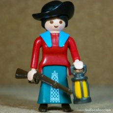 Playmobil: PLAYMOBIL MUJER VAQUERA LEJANO OESTE WESTERN , CUSTOM. Lote 164877150