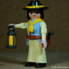 Playmobil: PLAYMOBIL MUJER VAQUERA LEJANO OESTE WESTERN , CUSTOM. Lote 191025355