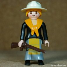 Playmobil: PLAYMOBIL MUJER VAQUERA LEJANO OESTE WESTERN , CUSTOM. Lote 164877430