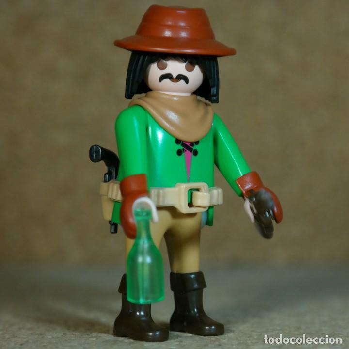 PLAYMOBIL VAQUERO BANDIDO MEXICANO LEJANO OESTE WESTERN , CUSTOM (Juguetes - Playmobil)