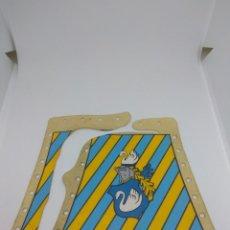 Playmobil: PLAYMOBIL LONAS TIENDA TORNEO MEDIEVAL CABALLERO DEL CISNE. Lote 165765550