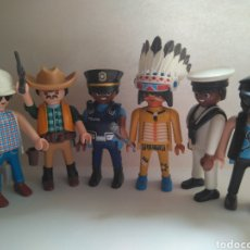 Playmobil: PLAYMOBIL VILLAGE PEOPLE MACHO MAN SAN FRANCISCO IN THE NAVY. Lote 215674440
