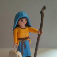 Playmobil: PLAYMOBIL PASTORA PARA EL BELEN PASTOR NAVIDAD CON BORREGO. Lote 230708235