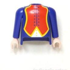 Playmobil: PLAYMOBIL PIEZAS TORSO Y BRAZOS,PIRATAS, FRANCESES, COLONIALES , AZUL NORDISTA 6436. Lote 194404007