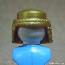Playmobil: PLAYMOBIL PELO PELUCA COTA DE MALLA ORO, CHICA/CHICO MEDIEVAL CABALLERO (EL BUSTO NO ESTA INCLUIDO). Lote 262822965