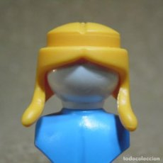 Playmobil: PLAYMOBIL PELO PELUCA COLETAS RUBIA AMARILLO TIPO MUJER CHICA/CHICO (EL BUSTO NO ESTA INCLUIDO). Lote 205392402