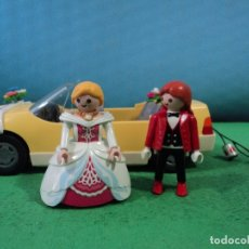 Playmobil: PLAYMOBIL-NOVIOS-COCHE DE NOVIOS-IGLESIA-BODA,NOVIOS. Lote 167428100