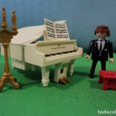 Playmobil: PLAYMOBIL-PIANO-IGLESIA-BODA,NOVIOS-FUNCIONA . Lote 167429136