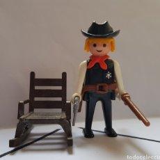 Playmobil: FAMOBIL SHERIFF CON MECEDORA REFERENCIA 3341 COMPLETA PLAYMOBIL. Lote 195338725