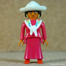 Playmobil: PLAYMOBIL MUJER MEXICANA - CUSTOM, LEJANO OESTE WESTERN. Lote 167634868