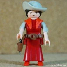 Playmobil: PLAYMOBIL MUJER VAQUERA - CUSTOM, LEJANO OESTE WESTERN. Lote 167634896