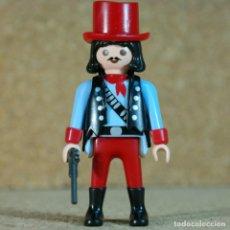 Playmobil: PLAYMOBIL VAQUERO - CUSTOM, SALOON TIRO LEJANO OESTE WESTERN. Lote 167635340