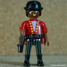 Playmobil: PLAYMOBIL BANDIDO NEGRO - CUSTOM, LADRÓN LEJANO OESTE WESTERN. Lote 167635536