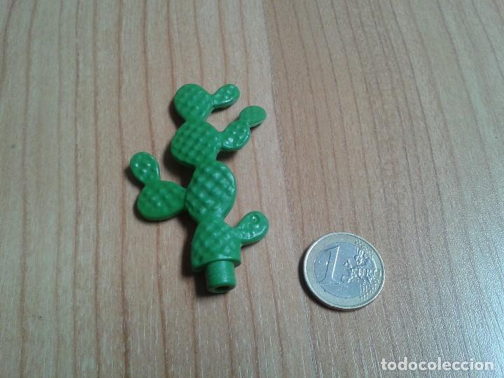 Playmobil: Playmobil -- Cactus -- Chumbera -- Oeste -- Desierto -- Planta -- Vegetación -- Verde - Foto 2 - 167755676