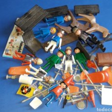 Playmobil: LOTE FAMOBIL PLAYMOBIL MEDIEVAL, MADE IN SPAIN, ORIGINAL AÑOS 70.. Lote 167759768