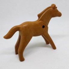 Playmobil: PLAYMOBIL ANIMAL CABALLO POTRO MARRÓN CLARO. Lote 168019482