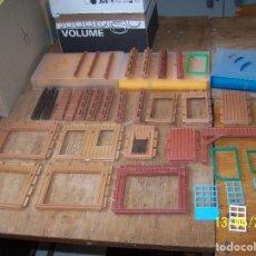 Playmobil: LOTE PLAYMOBIL DESGUACE, PARED, VENTANA, MURO, CASA. LEER DESCRIPCIÓN. Lote 168049308