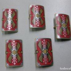 Playmobil: PLAYMOBIL LOTE ESCUDOS RECTANGULARES ROMANO ROMA ESCUDO. Lote 199926677