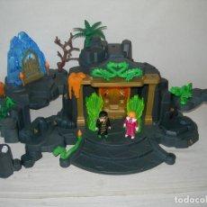 Playmobil: ESCENARIO O DIORAMA EL TEMPLO DEL SOL / DEL DRAGÓN DE PLAYMOBIL REF. 3841 - INCOMPLETO - AÑOS 90 -. Lote 218955682