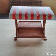 Playmobil: PLAYMOBIL TIENDA CON TOLDO PUESTO MERCADO. Lote 168612464