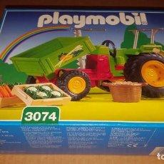 Playmobil: PLAYMOBIL TRACTOR GRANJA 3074 ANIMALES NUEVO EN CAJA SIN ABRIR. Lote 168741180