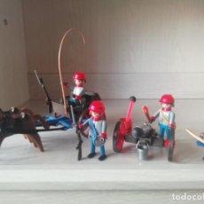 Playmobil: PLAYMOBIL, LOTE,CUSTOM,OESTE,WESTERN, NORDISTAS, SOLDADOS, OFICIAL, SUDISTAS, INFANTERIA, ARTILLERIA. Lote 168849504