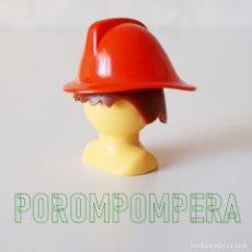 Playmobil: PLAYMOBIL CASCO BOMBERO ROJO 3366 3367 PRIMERA ÉPOCA AÑOS 70 Y 80. Lote 168855152