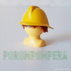 Playmobil: PLAYMOBIL CASCO BOMBERO AMARILLO 3339 3781 PRIMERA ÉPOCA AÑOS 70 Y 80. Lote 168855176